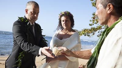 Leila and John, Hanalei, Kauai, distination weddings, beach weddings